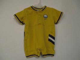 Nike Size 12 months Boy's Soccer Sports Yellow Cotton Short Sleeve Jumper - $20.00