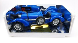 Bburago 1/18 scale Bugatti Type 59 (1934) diecast model car blue  - $26.17