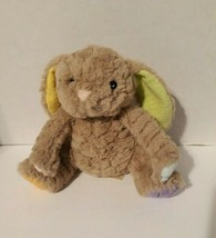"Super Soft 8"" Brown Bunny Rabbit/Animal Adventure / Multicolored feet/ l... - $18.61"