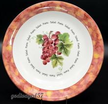 "Royal Doulton Vintage Grape * 13 3/8"" Pasta / Salad Serving Bowl * Rare, Vgc - $34.99"