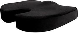 Cush Comfort Memory Foam Seat Cushion Non-Slip - Spinal Alignment Coccyx... - $39.01