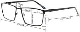 Eyekepper 4-Pack Mens Reading Glasses Spring Hinges Included Tinted Lens +0.75 image 6