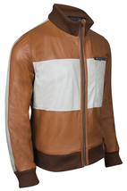 Hangover Mr Chow Ken Jeong Bomber Brown Leather Jacket image 2