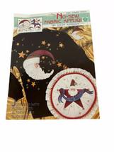 Daisy Kingdom No Sew Fabric Applique Mary Engelbreit Starry Santa 6991 Vtg New - $12.86