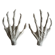 Halloween Plastic Skeleton Hands Witch Haunted House Escape Horror Props - $17.90