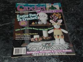 Crochet World Magazine April 1996 Little Lamb - $2.99