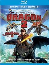 How To Train Your Dragon 2 (Blu-ray+DVD+Digital) New