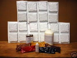 "20 Mold Concrete Patio Paver or Tile Supply Kit Makes 6x6x1.5"" Stones, Fast Ship image 1"