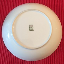 """Gold China 7.5"""" bowl with trees (made in occupied Japan)  image 3"""