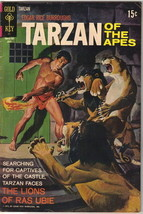 Tarzan Comic Book #201, Gold Key Comics 1971 FINE - $9.74
