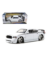 2006 Dodge Charger SRT8 Hemi Lopro White 1/18 Diecast Model Car by Jada - $62.02