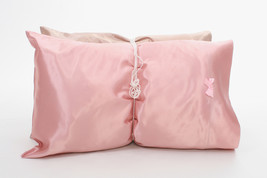 Neero & Ana Pillowcase Pearl Collection Pink King Single - $39.99