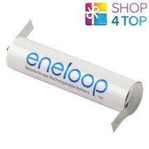 PANASONIC ENELOOP RECHARGEABLE AAA HR03 BATTERY WITH Z-SHAPED SOLDER TAB... - $4.42