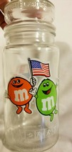 Rare Vintage 1980s 80s Olympics M&M M&M's M And M's Glass Jar Lid Los An... - $21.31
