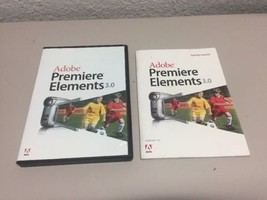 Adobe Photoshop Elements Premiere Elements 3.0 with Serial Numbers EUC - $7.91