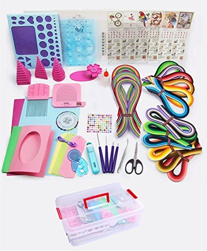 Kitchen Set Quilling: YURROAD Paper Quilling Kit With 1740 Strips And Paper