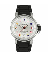 Corum Admiral's Cup Trophy 41mm Automatic Flags Steel Date Watch 082.830.20 - $1,893.81