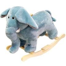 Happy Trails Elephant Plush Rocking Animal - $51.74