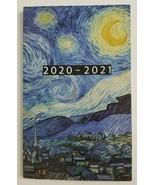2020-2021 STARRY NIGHT Van Gogh Small Weekly Planner Agenda Goals Log - $11.99