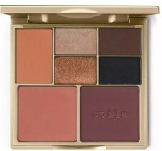 Stila Perfect Me, Perfect Hue Eye & Cheek Palette, Tan/Deep, 0.49 oz NIB - $18.99