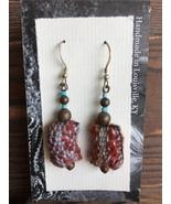 Handwoven Earrings - $20.00