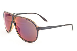 Carrera New Champion Havana Shiny Black / Dark Brown Infrared Sunglasses LAO - $117.11