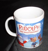Rudolph The Red-Nosed Reindeer Coffee Cup Mug Christmas - $9.00