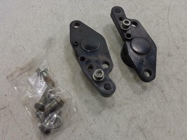 93-02 Harley Davidson FLH Touring FOOTREST SWINGARM MOUNT RIGHT LEFT BRA... - $26.95