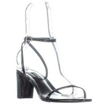 Nine West Provein Ankle Strap Block Heel Sandals, Black - $33.99