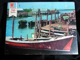 ESSEX 750 Series Milton Bradley MB Puzzle Vintage Sealed Tied Up at Dock... - $29.48