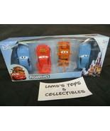 "Disney Pixar Cars set of four 3"" figurines toys Beverly Hills Teddy Bear... - $28.48"