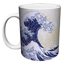Katsushika Hokusai The Great Wave Japanese Fine Art Ceramic Gift Coffee ... - $16.96