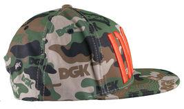 DGK Dirty Ghetto Kids Green Camouflage Assault Snapback Baseball Hat NWT image 3