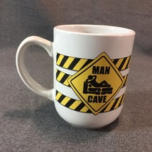 Man Cave Construction Sign Coffee Mug Cup Warning Sign Royal Norfolk 10 ... - $12.16