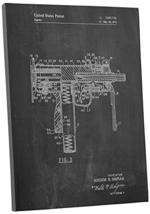 "Pingo World 0301Q40VOVM ""Uzi Machine Gun Patent"" Gallery Wrapped Canvas Print, 2 - $48.46"