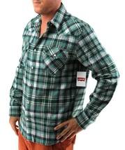 NEW LEVI'S MEN'S CLASSIC LONG SLEEVE BUTTON UP PLAID DRESS SHIRT HGR-3LYLW0062CC image 2