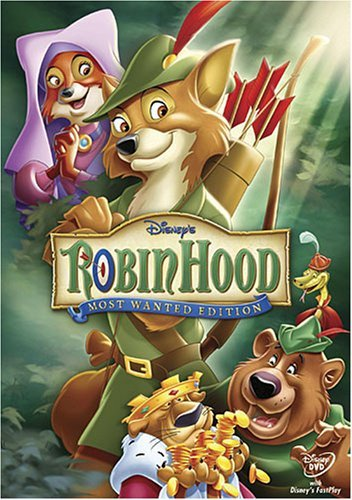 Disney Robin Hood (DVD, 2006, Most Wanted Edition)