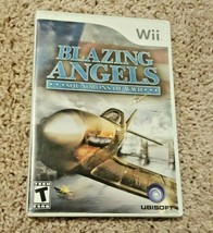 Blazing Angels: Squadrons of WWII (Nintendo Wii, 2007) - $5.00
