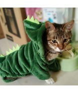 Holapet® Dinosaur Pet Costume Halloween Clothes For Small Cats Winter Warm - ₹499.58 INR+