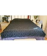 Pottery Barn Teen EMILY MERITT BLACK EYELET Duvet Cover Twin/TwinXL NWOT... - $45.00