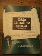 Bible Timeline Workbook by Eric John Ellis Study Guide TPB - $7.88