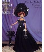 1898 Parisian Merry Widow Dress for Barbie Paradise #76 Crochet PATTERN NEW - $7.17