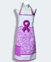 "26"" x 30"" Apron - PINK RIBBON - One Size Fits Most - New in Package - $11.95"