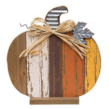 Country HARVEST SLAT PUMPKIN Rustic Fall Autumn Primitive Thanksgiving H... - $40.99