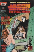 Jason Goes To Hell: The Final Friday #2 (1993) *Movie Adaptation / 3 Fre... - $25.00