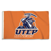 Texas El Paso Miners  3'x5' Flag with Grommets  - $35.95