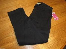 Roxy girls youth pants capri Fun Weekend 16 black 483851 NWT NEW 39.50 ^^ - $17.10