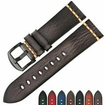 Cinturino di ricambio per orologio Cinturino in vera pelle vintage per... - $29.57