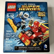New LEGO DC Comics Super Heroes Mighty Micros The Flash vs Captain Cold ... - $39.59