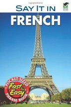 Say It In French: Phrase Book for Travelers Leon J. Cohen - $3.91